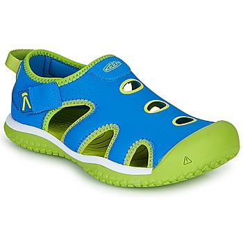 Zapatos Niños Sandalias de deporte Keen STINGRAY Azul / Verde