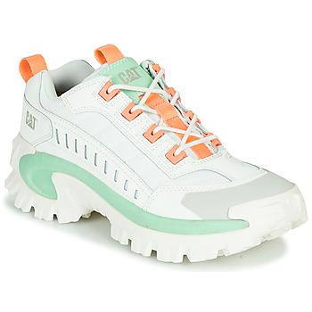 Zapatos Hombre Zapatillas bajas Caterpillar INTRUDER Blanco / Verde