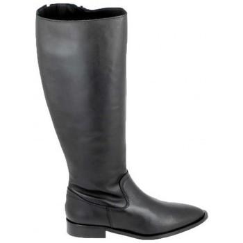 Zapatos Botas Porronet Botte Bost Noir Negro
