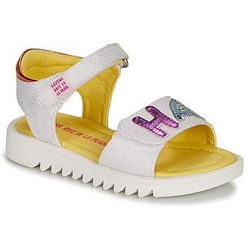 Zapatos Niña Sandalias Agatha Ruiz de la Prada SMILES Blanco