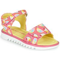 Zapatos Niña Sandalias Agatha Ruiz de la Prada SMILES Rosa / Multicolor