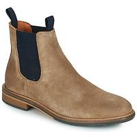 Zapatos Hombre Botas de caña baja Schmoove PILOT-CHELSEA Marrón / Azul
