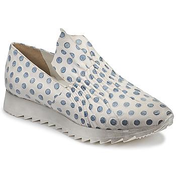 Zapatos Mujer Zapatillas bajas Papucei ZENIT Blanco / Gris