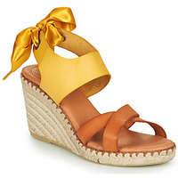 Zapatos Mujer Sandalias Pataugas FIONA Cognac / Amarillo