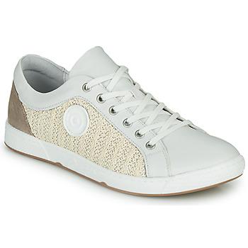Zapatos Mujer Zapatillas bajas Pataugas JOHANA Crudo / Amarillo