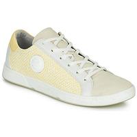 Zapatos Mujer Zapatillas bajas Pataugas JUNE/N Crema / Amarillo