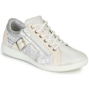 Zapatos Mujer Zapatillas bajas Pataugas PAULINE/S Blanco / Plata