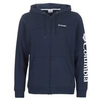 textil Hombre sudaderas Columbia Columbia Logo Fleece Full zip Colegiata / Navy