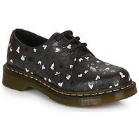 Zapatos Mujer Derbie Dr Martens 1461 HEARTS Negro