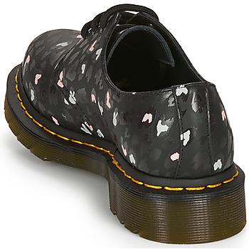 Dr Martens 1461 HEARTS Negro - Envío gratis    - Zapatos Derbie Mujer 15300