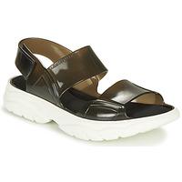 Zapatos Mujer Sandalias Lemon Jelly JUNO Negro / Blanco