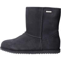 Zapatos Niña Botas de nieve EMU - Stivale blu camoscio K10773 BLU