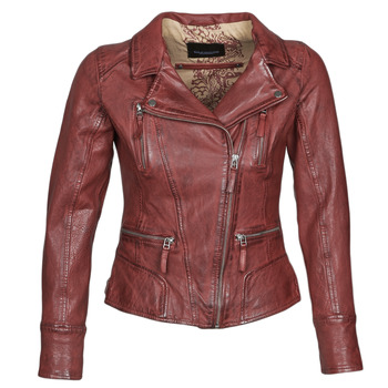 textil Mujer Chaquetas de cuero / Polipiel Oakwood CAMERA Rojo