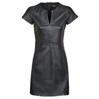 textil Mujer vestidos cortos Oakwood PLEASE Negro