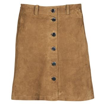 textil Mujer Faldas Oakwood KEREN Cognac