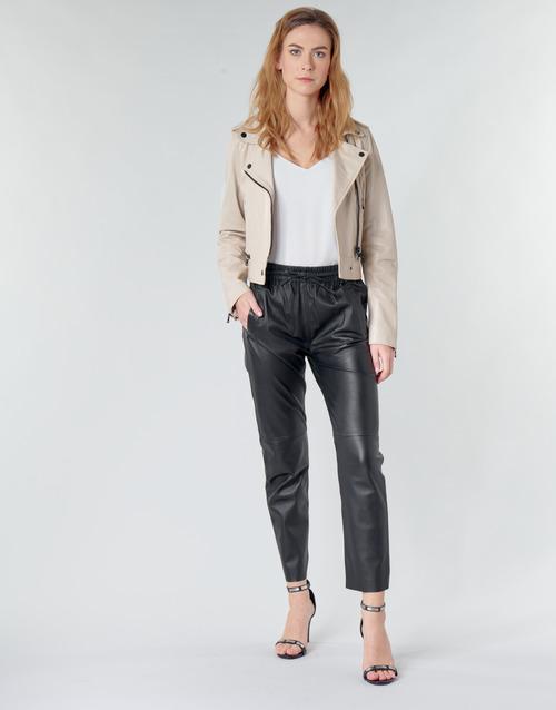 textil Mujer Pantalones con 5 bolsillos Oakwood KYOTO Negro