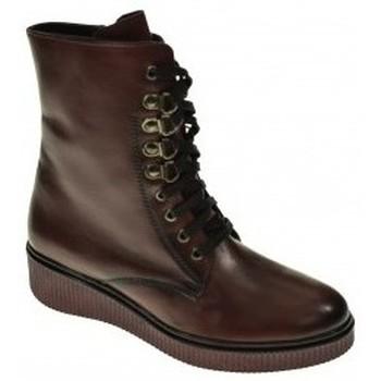 Zapatos Mujer Botas de caña baja Wikers 57264 Rojo