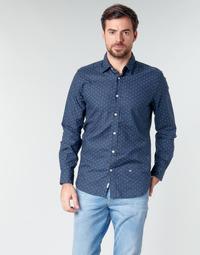 textil Hombre camisas manga larga Pepe jeans ADAN Marino
