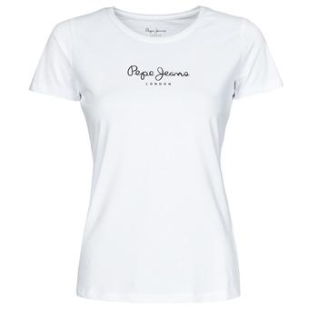 textil Mujer Camisetas manga corta Pepe jeans NEW VIRGINIA Blanco