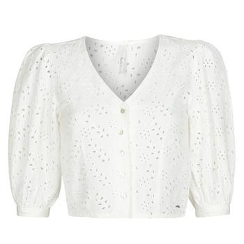 textil Mujer Tops / Blusas Pepe jeans CLAUDIE Blanco