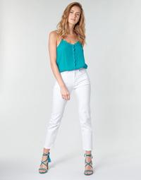 textil Mujer Vaqueros rectos Pepe jeans MARY Blanco