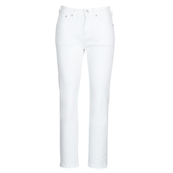 textil Mujer vaqueros rectos Pepe jeans MARY Blanco