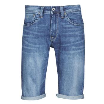 textil Hombre Shorts / Bermudas Pepe jeans CASH Azul / Medium