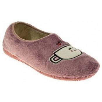 Zapatos Mujer Pantuflas Roal 170 Rosa