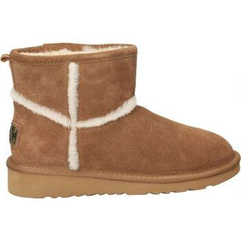 Zapatos Mujer Botas de nieve Top3 Botines  9786 moda joven marron Marron