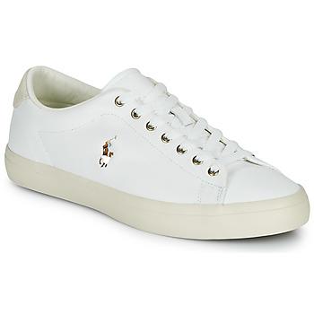 Zapatos Hombre Zapatillas bajas Polo Ralph Lauren LONGWOOD-SNEAKERS-VULC Blanco