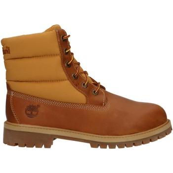 Zapatos Niños Botas de caña baja Timberland A1I2Z 6 IN QUILT Marr?n