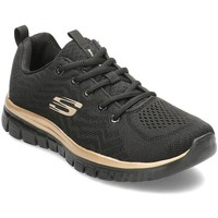 Zapatos Mujer Derbie & Richelieu Skechers Get Connected Negro