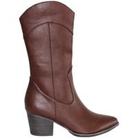 Zapatos Mujer Botas urbanas Sirena HF980 Marron
