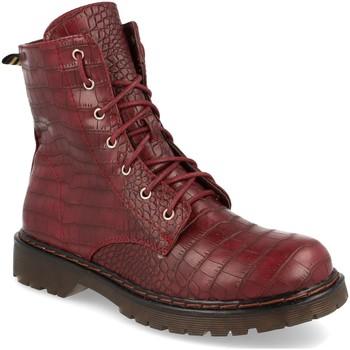 Zapatos Mujer Botas de caña baja Ainy J932 Burdeos
