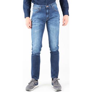 textil Hombre Vaqueros slim Lee Arvin L732ASJO azul marino
