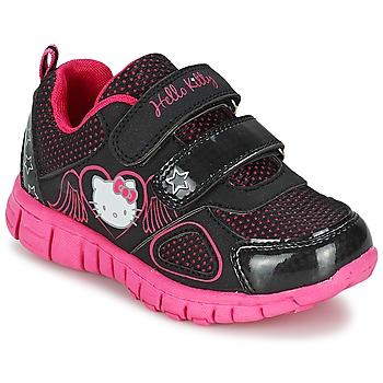 Zapatos Niña Zapatillas bajas Hello Kitty BASEMO PHYL Negro