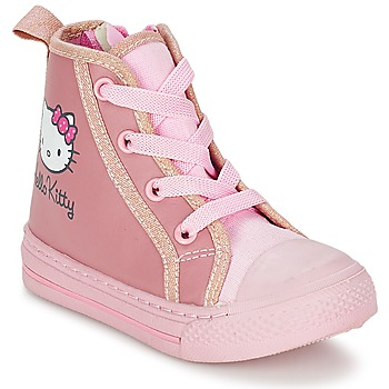 Zapatos Niña Zapatillas altas Hello Kitty TANSIOUR Rosa