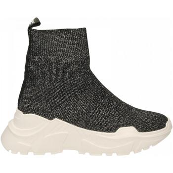 Zapatos Mujer Zapatillas altas Emanuélle Vee SNEAKER CALZINO black