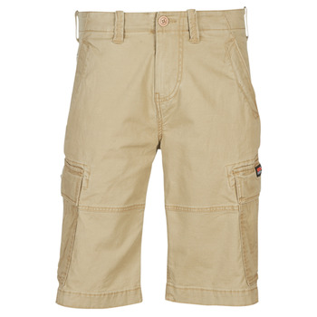 textil Hombre Shorts / Bermudas Superdry CORE CARGO SHORTS Dress / Beige