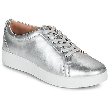 Zapatos Mujer Zapatillas bajas FitFlop RALLY Plata