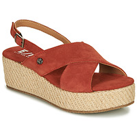 Zapatos Mujer Sandalias Elue par nous GESIEL Rojo