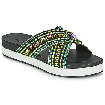 Zapatos Mujer Zuecos (Mules) Desigual SHOES_NILO_BEADS Negro