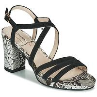 Zapatos Mujer Sandalias Metamorf'Ose GABARIT Negro / Serpiente