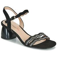 Zapatos Mujer Sandalias Metamorf'Ose GABERNIK Negro