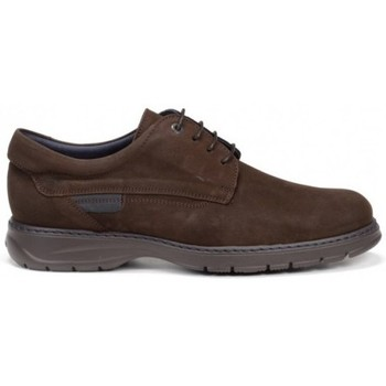 Zapatos Hombre Derbie Fluchos Crono 8855 Marrón Café Marron