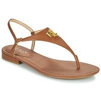 Zapatos Mujer Sandalias Lauren Ralph Lauren ELLINGTON SANDALS CASUAL Cognac