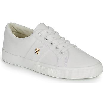 Zapatos Mujer Zapatillas bajas Lauren Ralph Lauren JANSON II Blanco