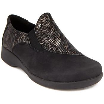 Zapatos Mujer Mocasín Arcopedico L104 NUBUCK NEGRO NEGRO