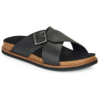 Zapatos Hombre Zuecos (Mules) Timberland AMALFI VIBES CROSS SLIDE Negro