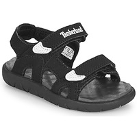 Zapatos Niños Sandalias Timberland Perkins Row 2-Strap Negro